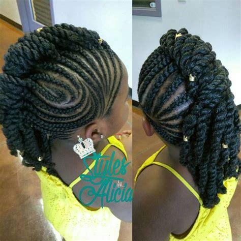 Hairstyles With Weave Braids by Mohawk Braid Hairstyles Black Braided Mohawk Hairstyles