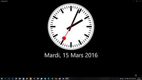 horloge bureau windows 8 recevoir horloge parlante microsoft store fr be