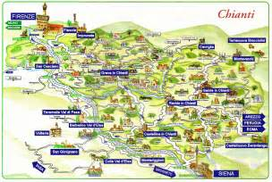 Chianti Italy Map by Wine Tours In Tuscany And Italy