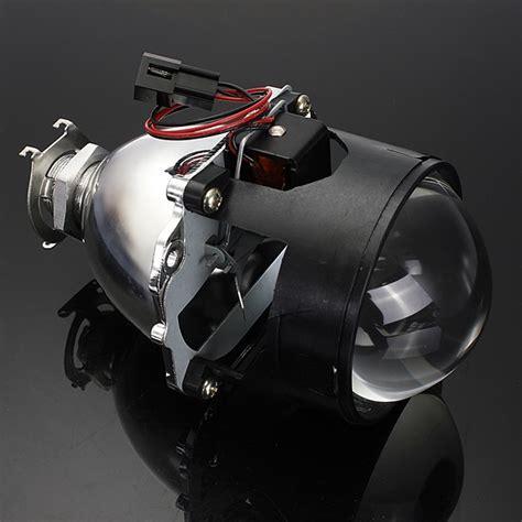 h7 len 2 5 inch motor bi xenon hid projector angle eye halo lens