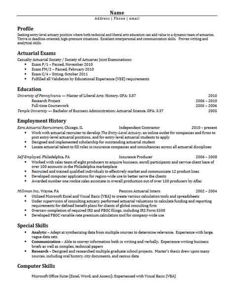 psychology graduate student resume