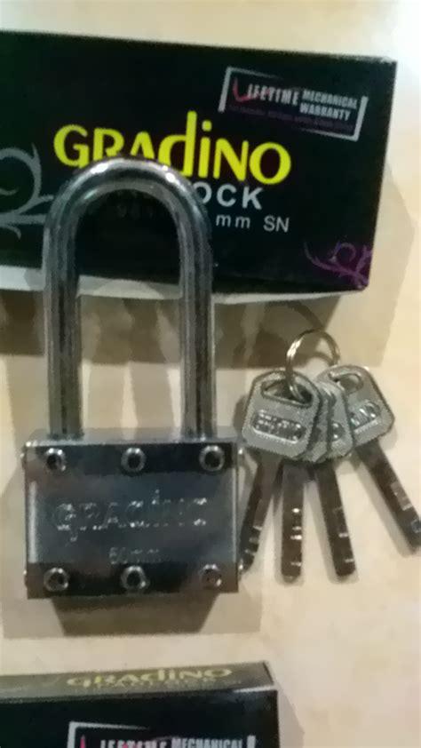 Gembok Leher Panjang jual gembok leher panjang 50mm gradino toko panca jaya