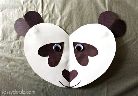 How To Make A Panda Out Of Paper - 25 best ideas about panda crafts on