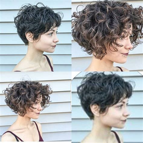 Curly Pixie Cuting Guide | just two great curly cuts by tatumneill on chloe lyn