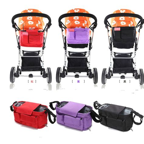 Stroller Greentom Bag 1 Set baby stroller bags organizer nappy bags stroller accessories baby pram products buggy storage