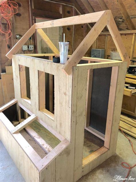 build  diy chicken coop run   chickens