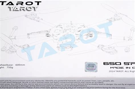 Tarot 650 Sport Pro Quadcopter Copter Tl65s01 tarot 650 sport quadcopter with retractable landing gear
