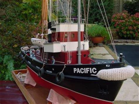 conventionele sleepboot modelbouw boten