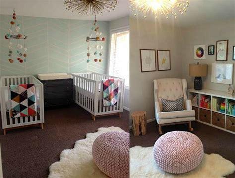 decoracion habitacion ni a bebe una habitaci 243 n para dos ni 241 as decoraci 211 n beb 201 s