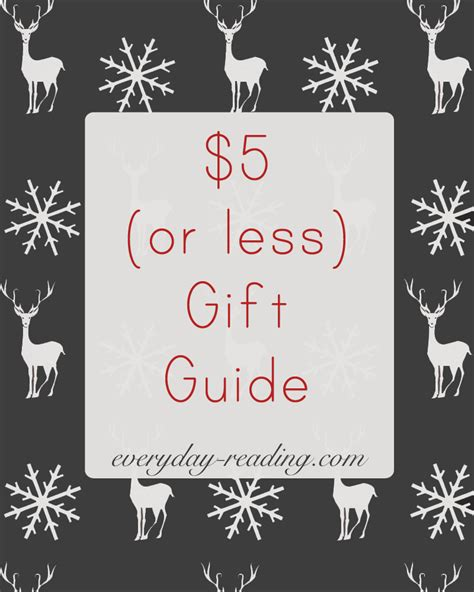 5 Gift Guide Posts To Blogstalk by The 2014 5 Or Less Gift Guide Everyday Reading