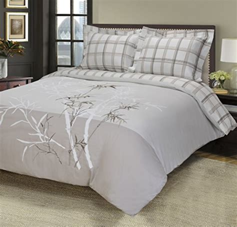 Bed Cover Set Impression Terragon Uk180160 100 cotton 3 king california king single ply soft embroidered elmwood duvet cover set