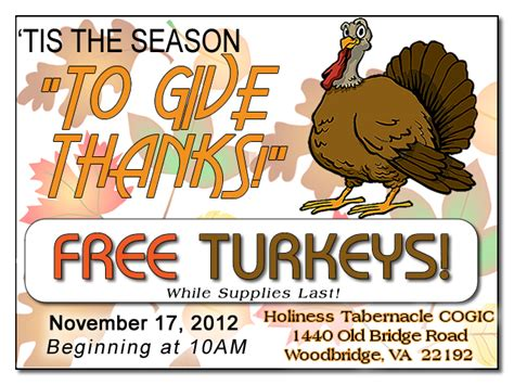Free Turkey Giveaway 2017 - thanksgiving turkey giveaway 100 images free frozen turkey giveaway shifa clinics