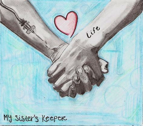 my sister s keeper tattoo my s keeper by musicaffect on deviantart