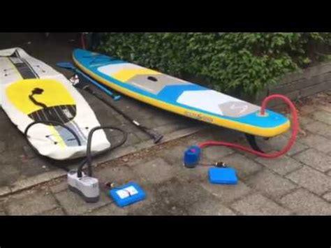 luchtpomp rubberboot hoeveel herrie maakt een elektrische pomp voor je sup