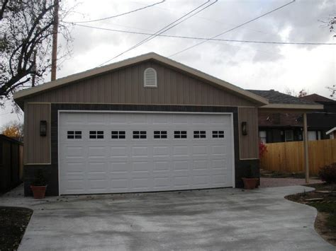 build 2 car garage how much does it cost to build a 24x24 garage