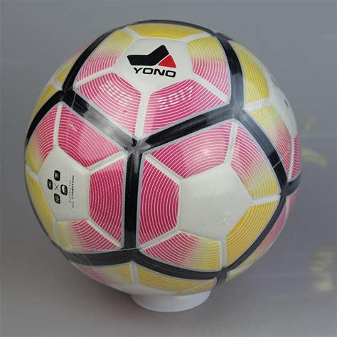Bola Sepak Soccerball Size5 6 kualitas tinggi pu kulit ukuran bola sepak 5 beberapa
