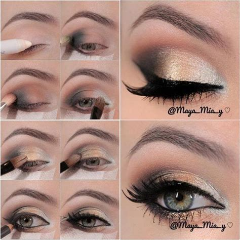 tutorial makeup natural for party 13 glamorous smoky eye makeup tutorials for stunning party