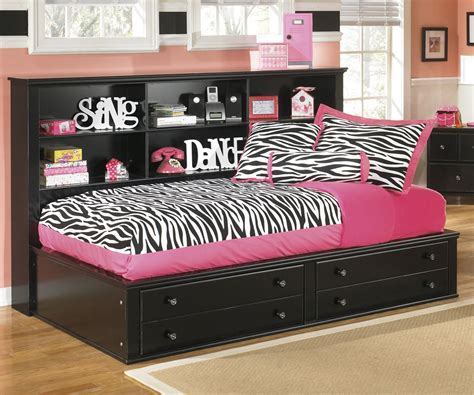 twin size storage bed ashley furniture jaidyn twin bedside storage bed kids