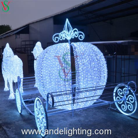 lighted christmas horse and carriage outdoor decorations and carriage psoriasisguru