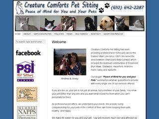 creature comforts pa dog boarding near 19153 pennsylvania pa boarding com