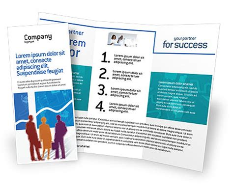 office brochure template work in the office brochure template design and layout