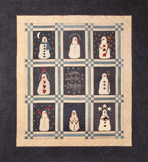 Snowman Gatherings Quilt Pattern by Snowman Gatherings Bongean S Weblog