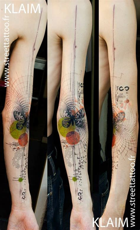 watercolor tattoo france klaim franconville www streettattoo fr