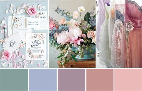 create wedding color palette how to create a vintage pastel wedding onefabday