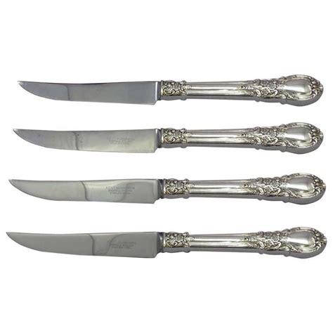 american made steak knives american by lunt sterling silver steak knife set