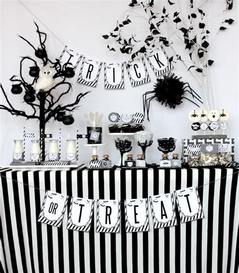 a chi chi affair black and white sophisticated halloween