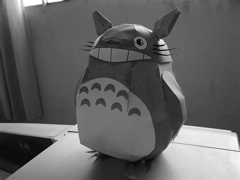 Totoro Origami - 17 best images about origami paper craft on