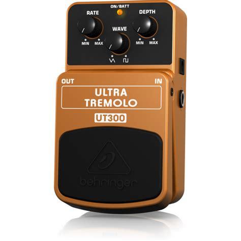 Behringer Ultra Tremolo Ut300 Effects Pedal Efek Stompbox Gitar Bass behringer ut300 ultra tremolo guitar pedal behringer