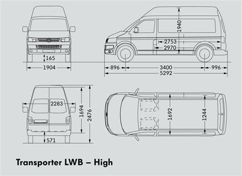 volkswagen caravelle dimensions volkswagen transporter lwb van trucks on road trucks 132kw