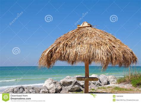 Tiki Hut On Beach Beach Tiki Hut Royalty Free Stock Image Image 16833606