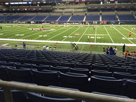 Alamodome Section 132 Utsa Football Rateyourseats Com
