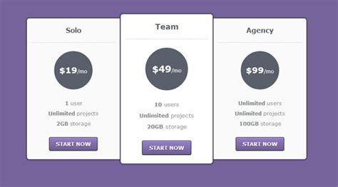 price plan design 30 best html css pricing table templates tutorials