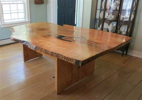 bench newtown newtown maple live edge table 171 city bench
