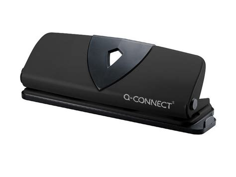 q connect 4 hole perforator black q connect