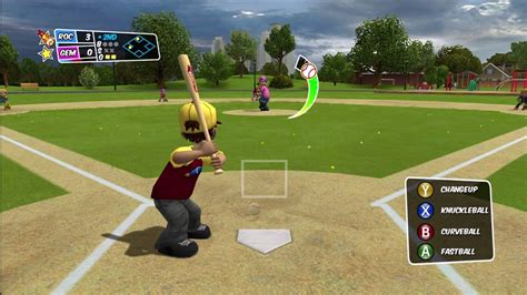 backyard baseball backyard baseball 2010 xbox 360 quot well ok then fielders are quot