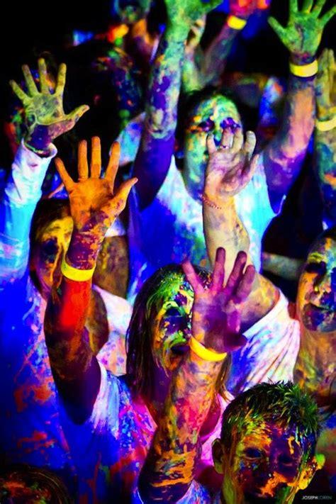 dayglow paint party neon paint rave neon raves pinterest style paint