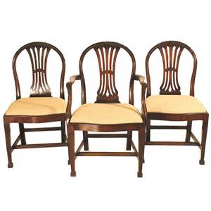 set of 8 gillows hepplewhite manner dining chairs at 1stdibs