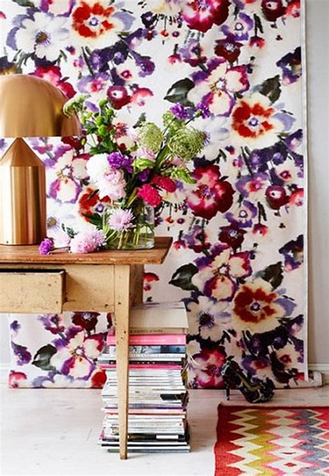 floral decorations for home floral patterns for home d 233 cor 37 cool ideas digsdigs
