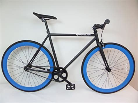 matte black single speed bike matte black and blue fixie single speed fixie bike with