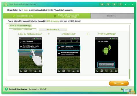 recovery android tenorshare android data recovery indir android cihazlardan dosya kurtarma yazılımı tamindir