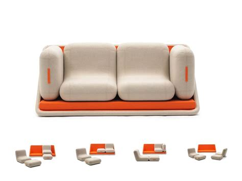 turn single bed into couch italian multifunctional furniture living in a shoebox