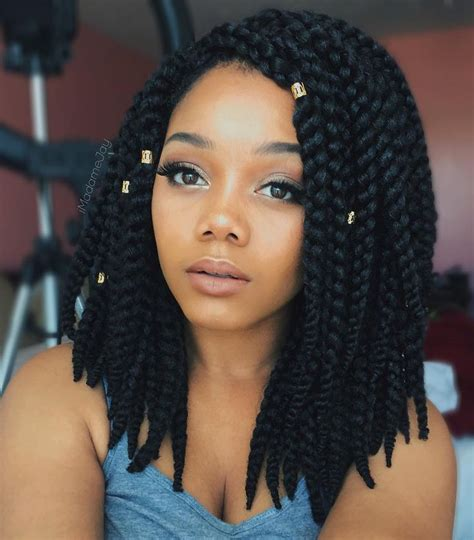 Thick Box Braid Hairstyles | 25 best ideas about thick box braids on pinterest black