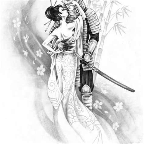 samurai geisha tattoo designs 109 best tattoo ideas places images on pinterest