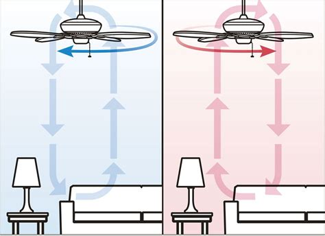 Ceiling Fan Rotation Summer by Which Way Should A Ceiling Fan Turn In The Summer