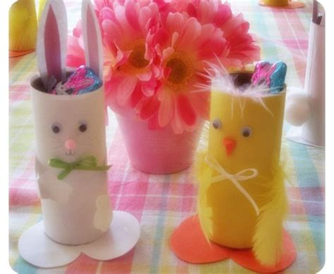 Toilet Paper Roll Easter Crafts - 13 eco friendly easter crafts for inhabitots