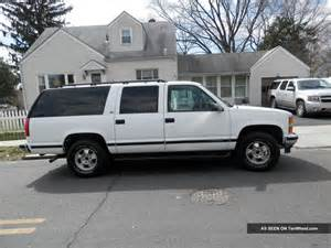 1999 chevy suburban